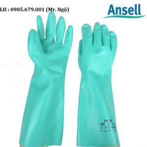 găng tay chống hóa chất thương hiệu ansell