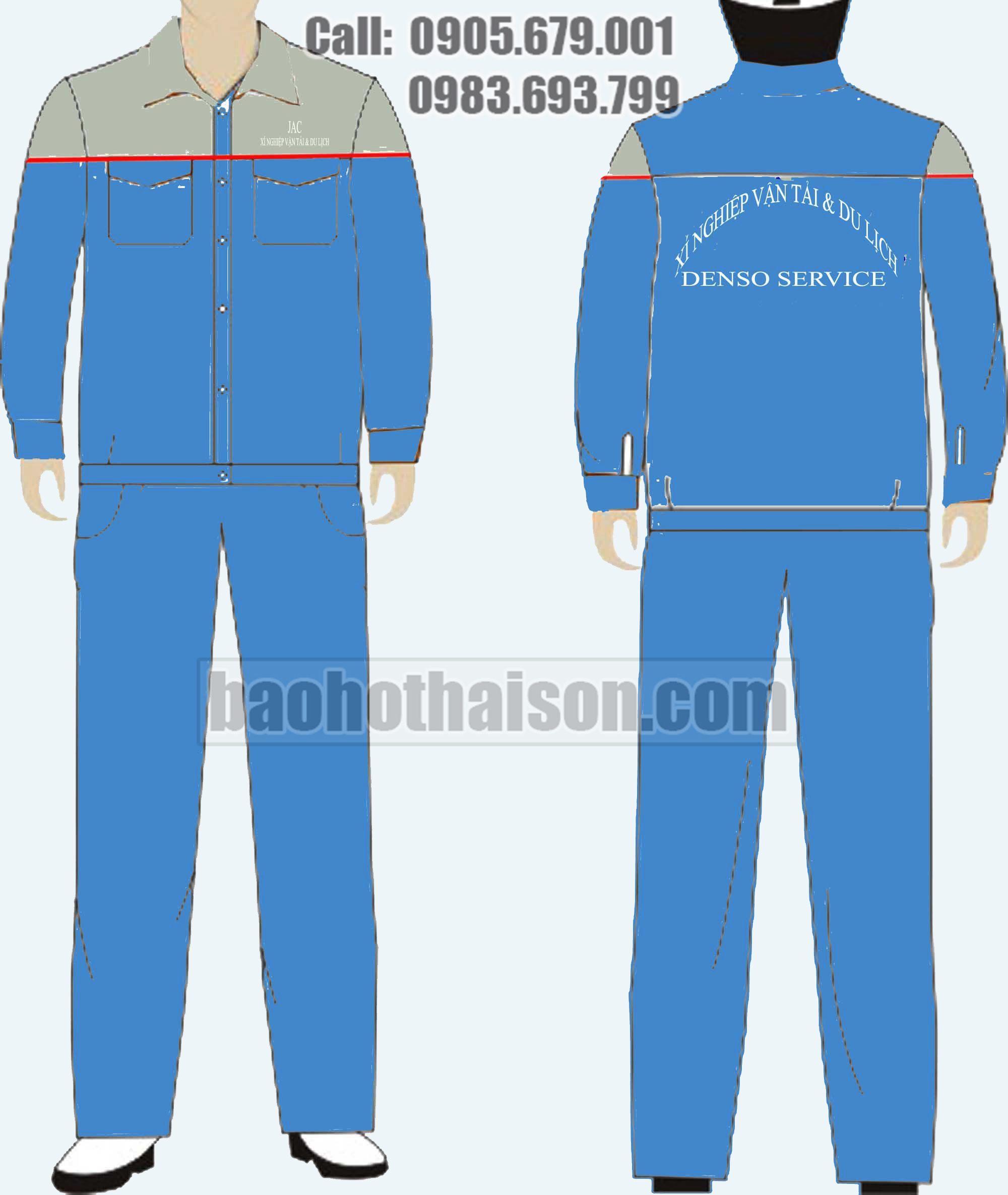 May quần áo công nhân 3