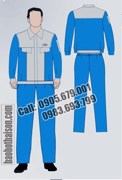 May quần áo công nhân 2