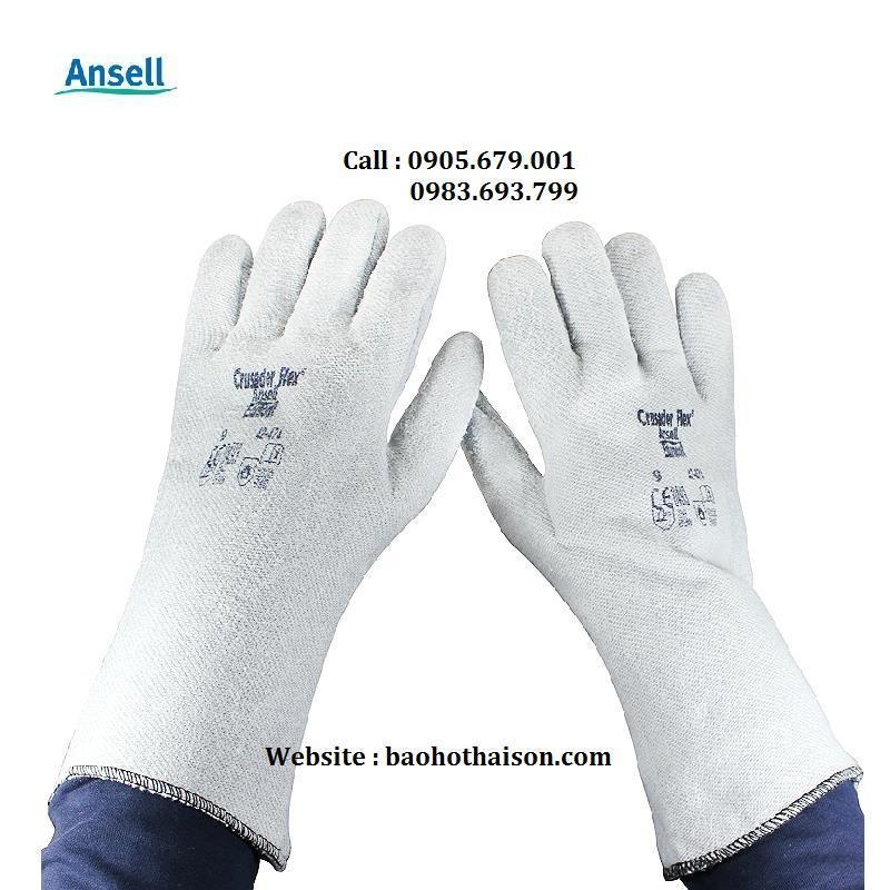găng tay chịu nhiệt độ cao 250 ansell