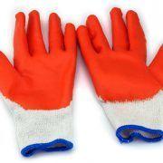 găng tay len nhúng mủ cao su