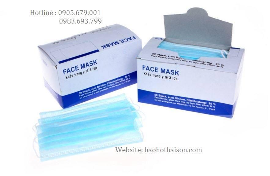 khẩu trang y tế face mask