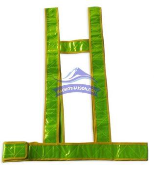 Áo phản quang dây chữ H 01