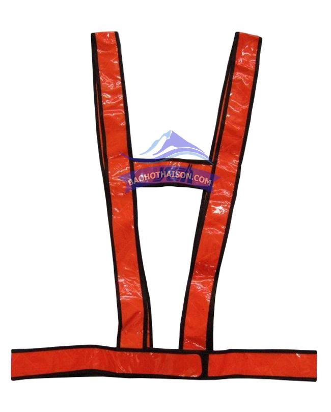 Áo phản quang dây chữ H kiểu 2