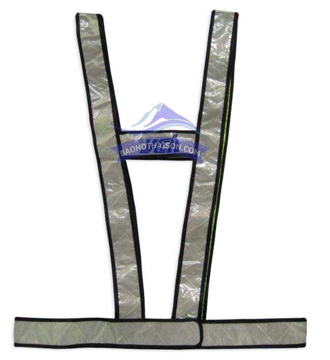 Áo phản quang dây chữ H kiiểu 3