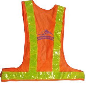 áo phản quang dây chữ A ms1