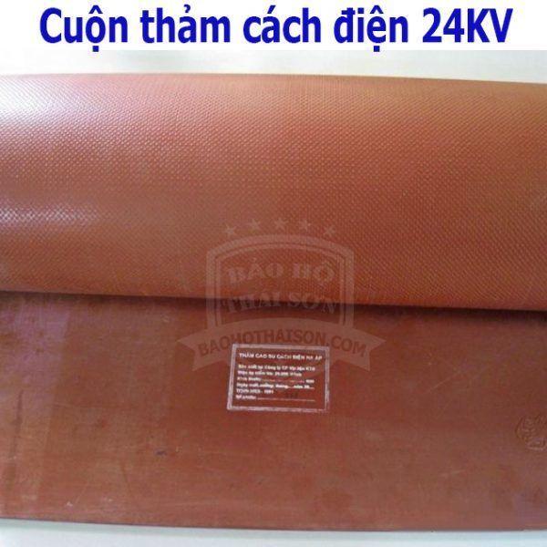 Cuộn thảm cách điện 24kv