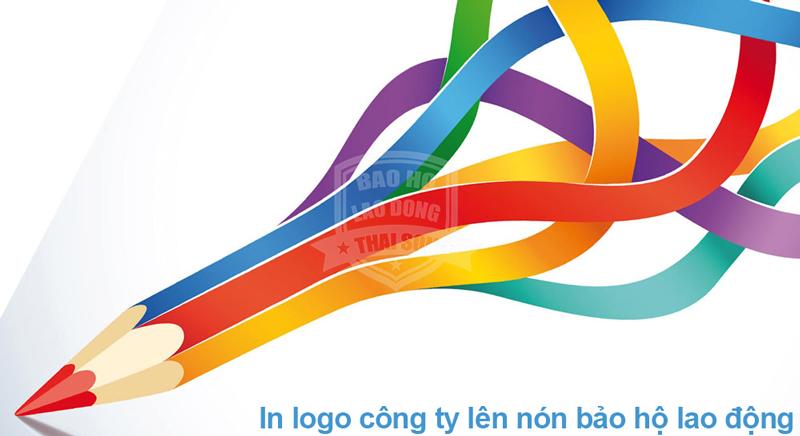 In logo công ty lên nón bảo hộ lao động