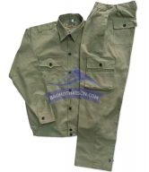 Quần áo bảo hộ lao động màu chì