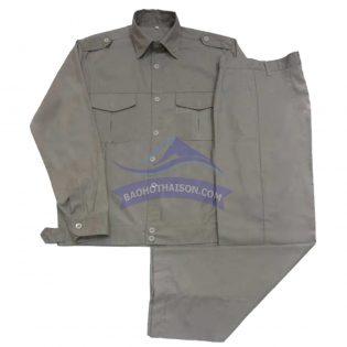Quần áo bảo hộ lao động màu ghi đá