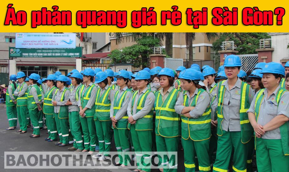Áo phản quang giá rẻ tại Sài Gòn
