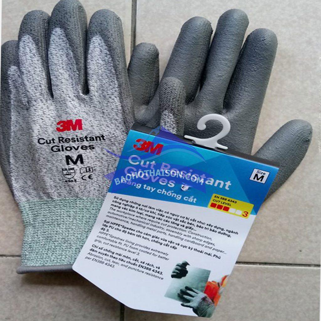 Găng tay chống cắt 3m cấp độ 3 chất lượng cao