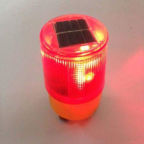 Đèn cảnh báo năng lượng mặt trời dạng xoay