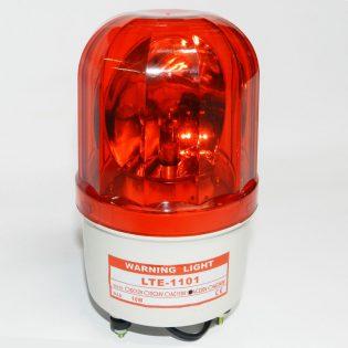 Đèn xoay cảnh báo công trường lte 1101 màu đỏ
