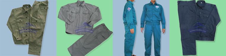 Quần áo bảo hộ lao động cơ khí