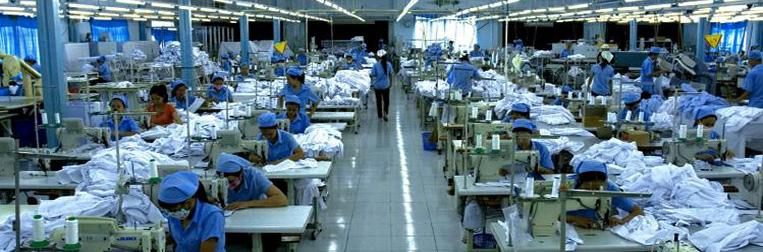 Xưởng may quần áo bảo hộ lao động