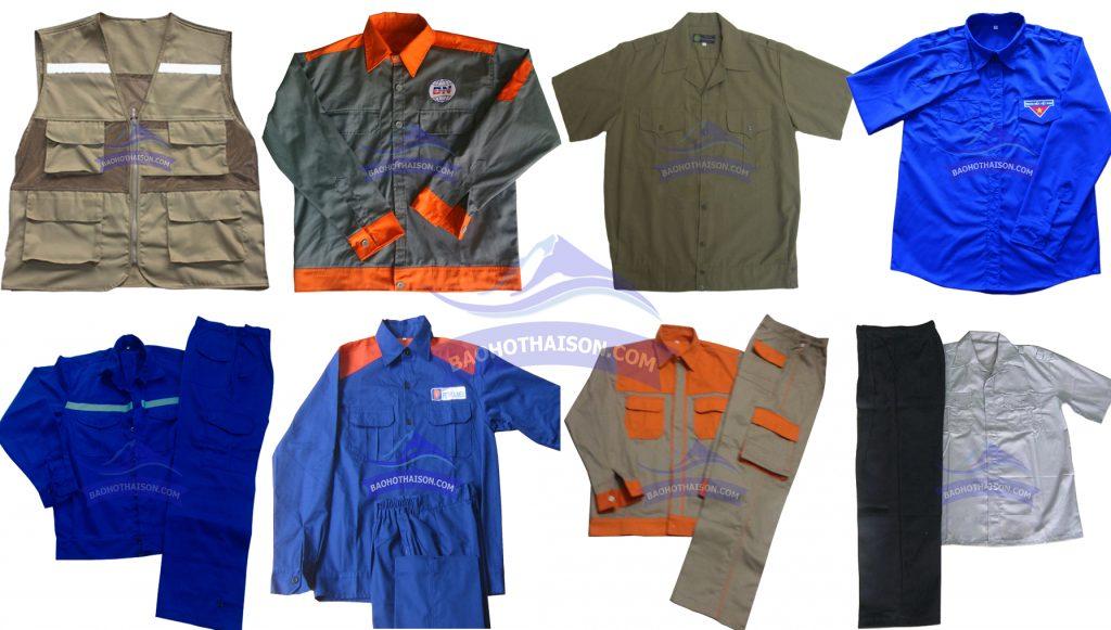 Quần áo bảo hộ lao động các kiểu