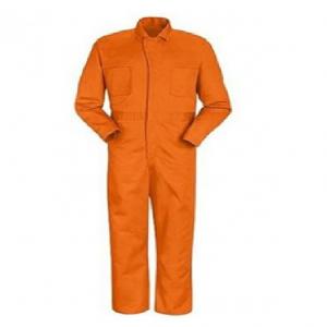 Áo liền quần bảo hộ màu cam