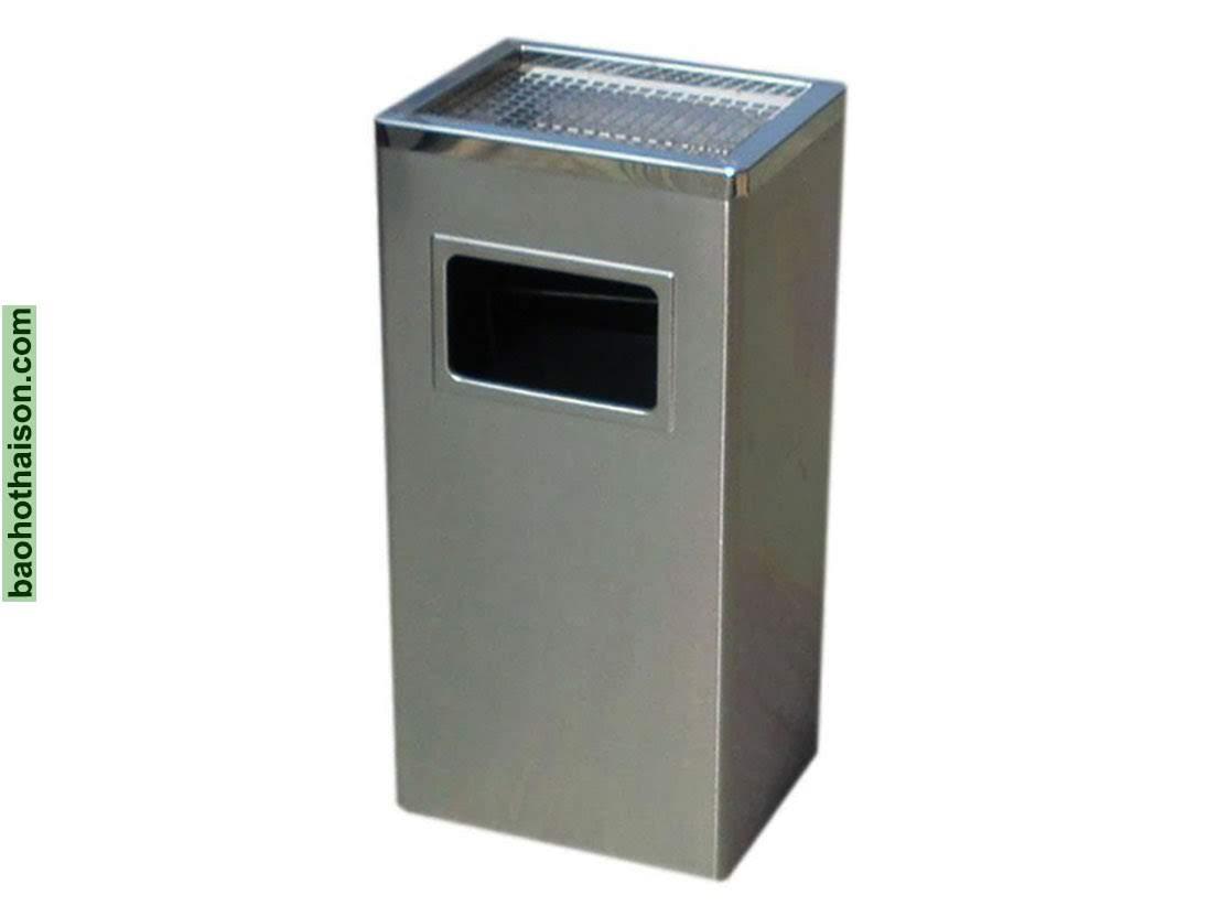 Thùng rác inox a34 A