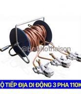 Bộ tiếp địa di động 3 pha 110 kv